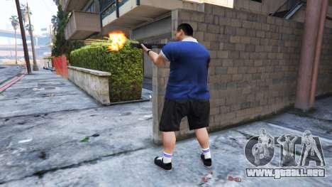 GTA 5 Ped Riot (un Motín de los ciudadanos de Los Sant segunda captura de pantalla
