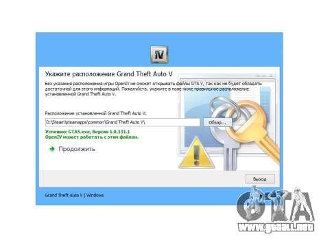 GTA 5 OpenIV 2.5 segunda captura de pantalla