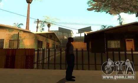 ENB Series por medio de la PC para GTA San Andreas quinta pantalla