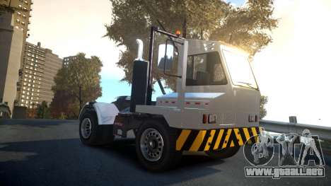 GTA V Dock Tug para GTA 4 vista hacia atrás