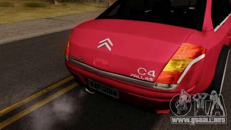 Citroen C4 Sedan para la visión correcta GTA San Andreas