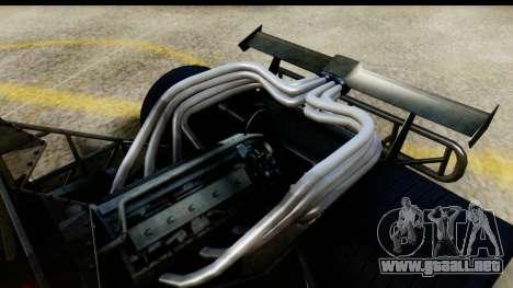 Flip Car 2012 para GTA San Andreas vista posterior izquierda