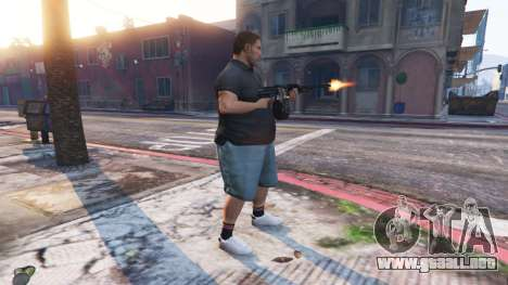 GTA 5 Ped Riot (un Motín de los ciudadanos de Los Sant cuarto captura de pantalla