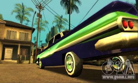Luni Voodoo para vista inferior GTA San Andreas