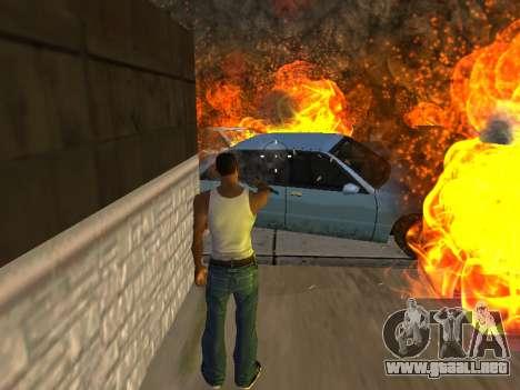 Sobredosis efectos (sin polvo) para GTA San Andreas