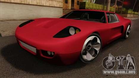 Bullet PFR v1.0 para GTA San Andreas