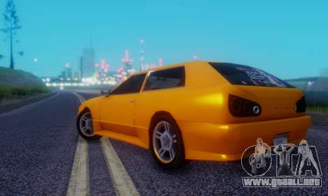 Elegy Hatchback v.1 para la visión correcta GTA San Andreas