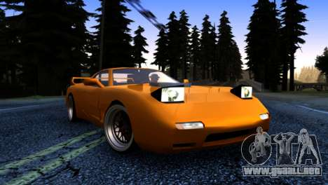 ZR-350 by Verone v.1 para GTA San Andreas vista hacia atrás