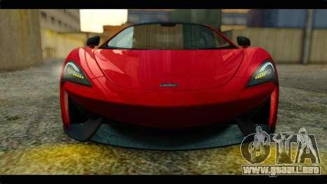 McLaren 570S 2015 para la visión correcta GTA San Andreas
