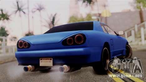 Elegy Full Customizing para GTA San Andreas left