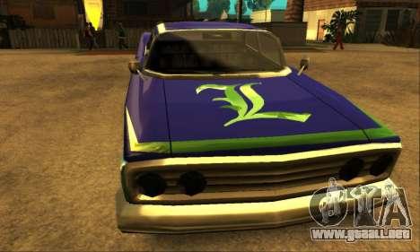 Luni Voodoo para la vista superior GTA San Andreas