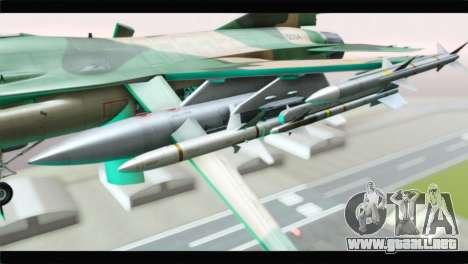 F-16A Fuerza Aerea Venezolana para la visión correcta GTA San Andreas
