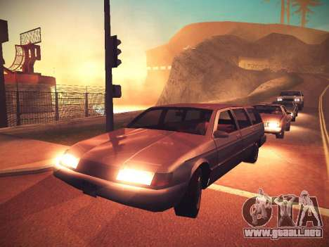 ENB Caramelo para GTA San Andreas segunda pantalla