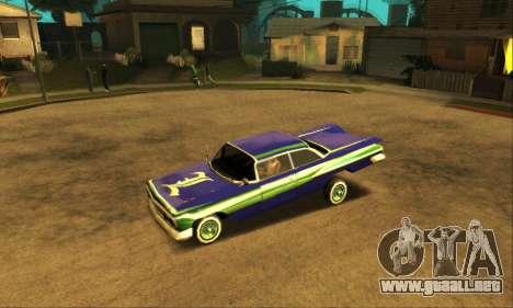 Luni Voodoo para GTA San Andreas interior