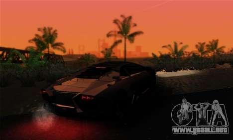Trigga Snupes ENB para GTA San Andreas quinta pantalla