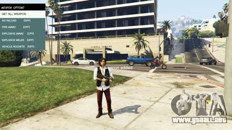 GTA 5 Native Trainer quinta captura de pantalla