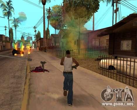 Rainbow Effects para GTA San Andreas undécima de pantalla