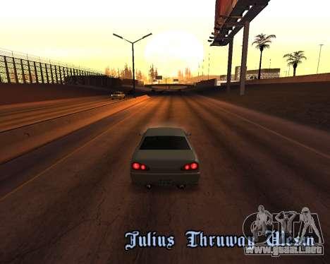 Project 2dfx 2.5 para GTA San Andreas décimo de pantalla