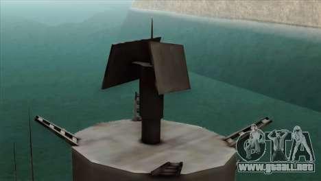 Admiral Kuznetsov Class para la visión correcta GTA San Andreas