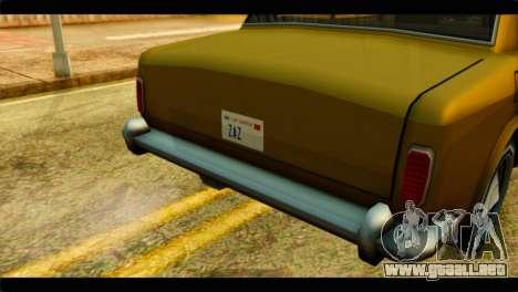 Stafford Limousine para la visión correcta GTA San Andreas