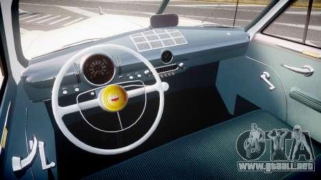 Ford Custom Fordor 1949 v2.2 para GTA 4 vista hacia atrás