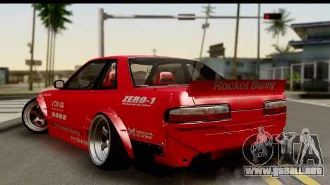 Nissan Silvia S13 Rocket Bunny para GTA San Andreas left
