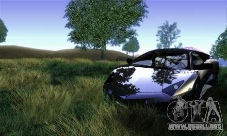 Trigga Snupes ENB para GTA San Andreas segunda pantalla