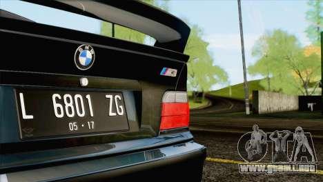 Mjla ENB Shader v1 para GTA San Andreas segunda pantalla