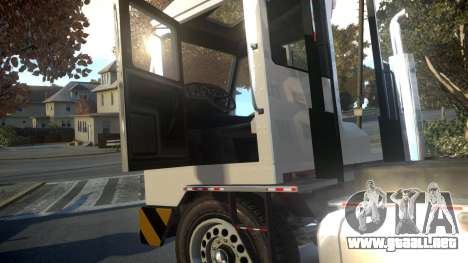 GTA V Dock Tug para GTA 4 vista interior