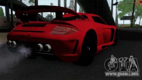 Gemballa Mirage GT v3 Windows Up para GTA San Andreas left
