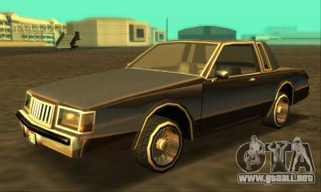 Majestic Restyle para GTA San Andreas left