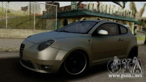 Alfa Romeo Mito Tuning para GTA San Andreas