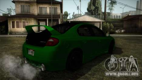 Dodge Neon SRT-4 Custom 2006 para GTA San Andreas left