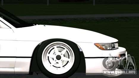 Nissan Silvia S13 para la visión correcta GTA San Andreas