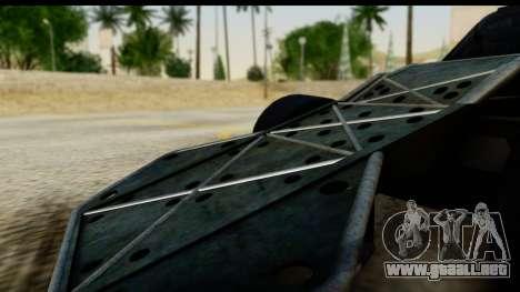 Flip Car 2012 para la visión correcta GTA San Andreas