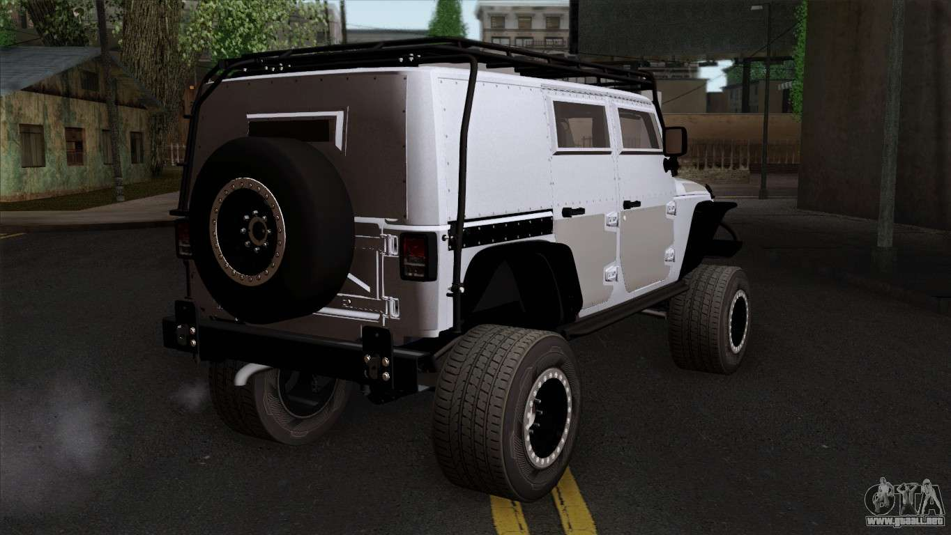 jeep wrangler 2013 fast furious edition para gta san andreas. Black Bedroom Furniture Sets. Home Design Ideas