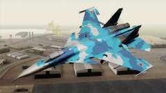 SU-33 Flanker-D Blue Camo