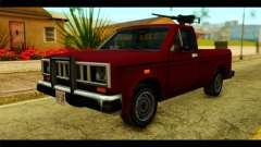 Bobcat Technical Pickup para GTA San Andreas