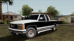 GMC Sierra 2500 1992 Extended Cab Final para GTA San Andreas