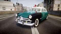 Ford Custom Fordor 1949 New York Police