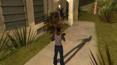 La sombra de la gente y los coches para GTA San Andreas