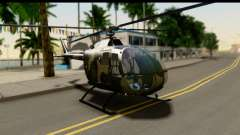 MBB Bo-105 Army para GTA San Andreas