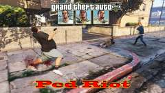 Ped Riot (un Motín de los ciudadanos de Los Sant