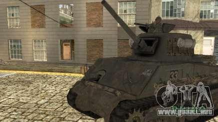 Tanque M4 Sherman para GTA San Andreas