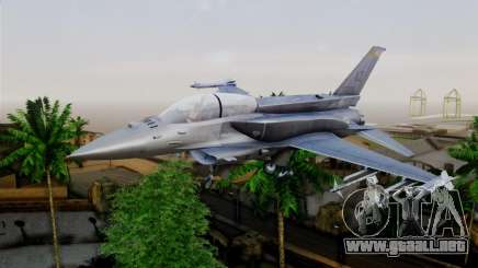 EMB F-16F Fighting Falcon US Air Force para GTA San Andreas