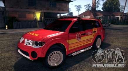 Mitsubishi Pajero Dakar 2014 CBESP para GTA San Andreas