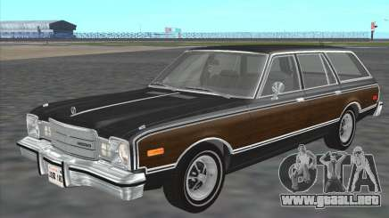 Plymouth Volare Wagon 1976 wood para GTA San Andreas