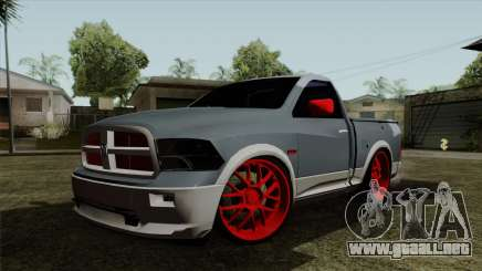 Dodge Ram QuickSilver para GTA San Andreas