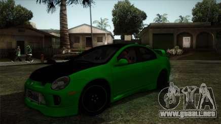 Dodge Neon SRT-4 Custom 2006 para GTA San Andreas
