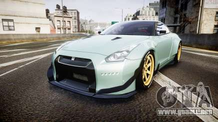 Nissan GT-R R35 Rocket Bunny [Update] para GTA 4